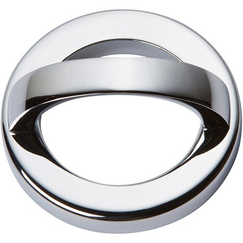 "Atlas Homewares 405-CH TABLEAU 1 7/8""  ROUND BASE & TOP IN CHROME"