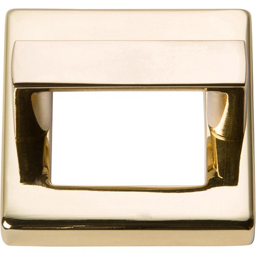 "Atlas Homewares 408-FG TABLEAU, 1 7/16"" SQUARE BASE & TOP IN FRENCH GOLD"