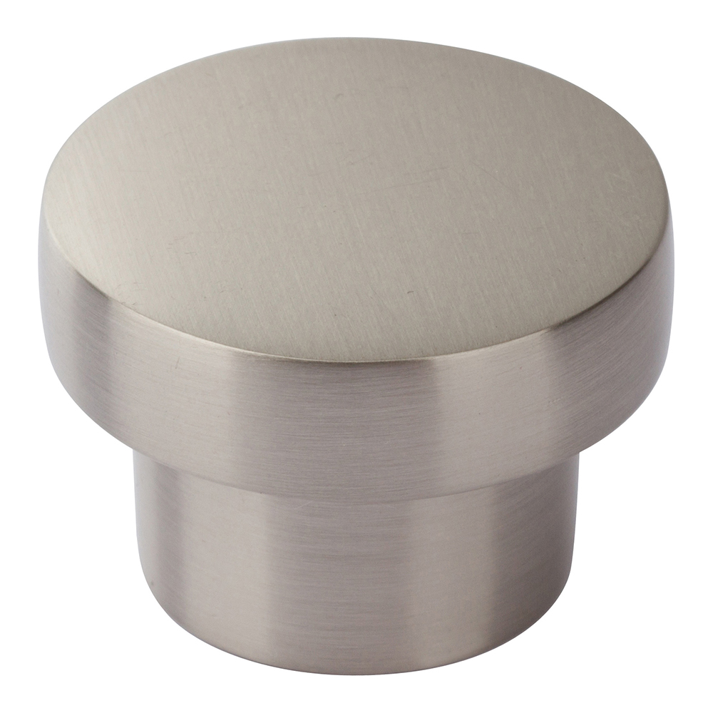 Atlas Homewares A912-BN CHUNKY ROUND KNOB MEDIUM  IN BRUSHED NICKEL