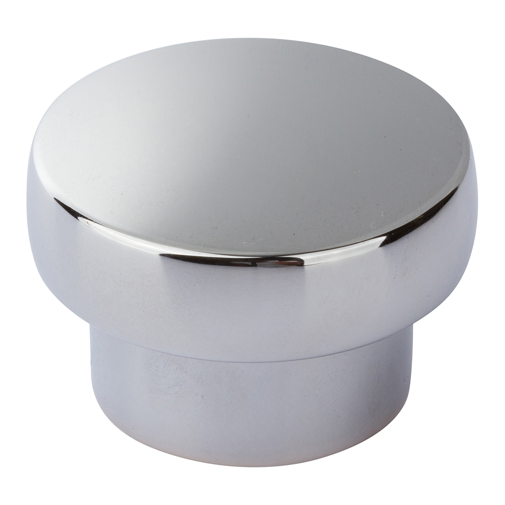 Atlas Homewares A913-CH CHUNKY ROUND KNOB LARGE IN CHROME