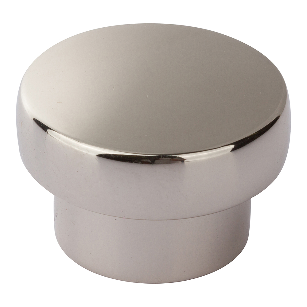 Atlas Homewares A913-PN CHUNKY ROUND KNOB LARGE IN POLISHED NICKEL