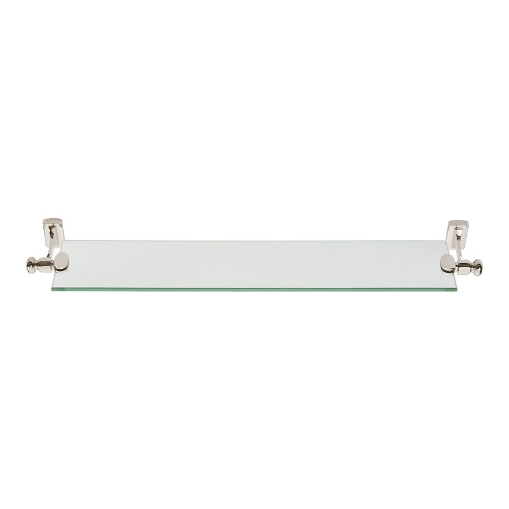 Atlas Homewares LGSF-PN Legacy Shelf   in Polished Nickel