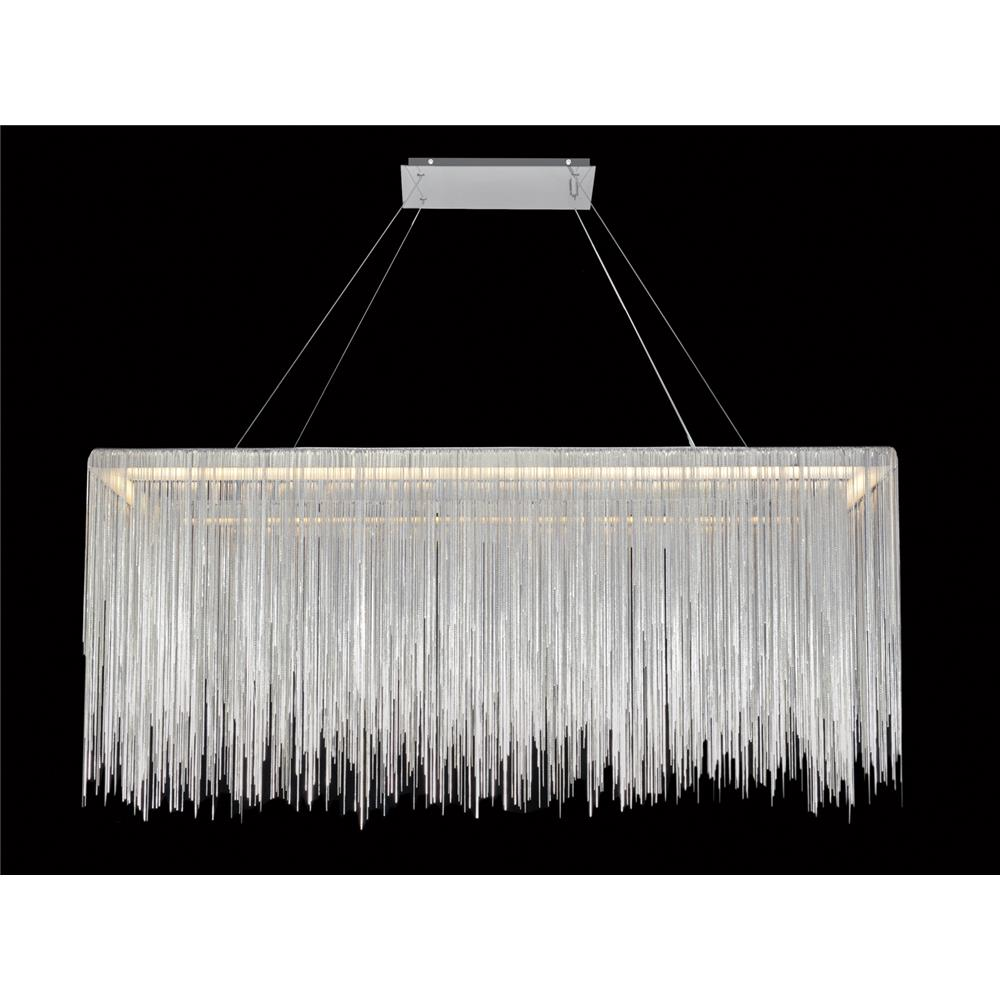 Avenue Lighting HF1201-CH Fountain Blvd. Hanging Chandelier