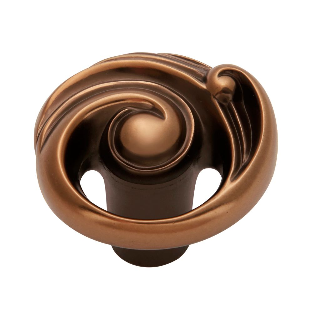 Belwith-Keeler B072433-VBN Amaranta Collection Knob 1-1/2 Inch Diameter Vintage Bronze Nickel Finish
