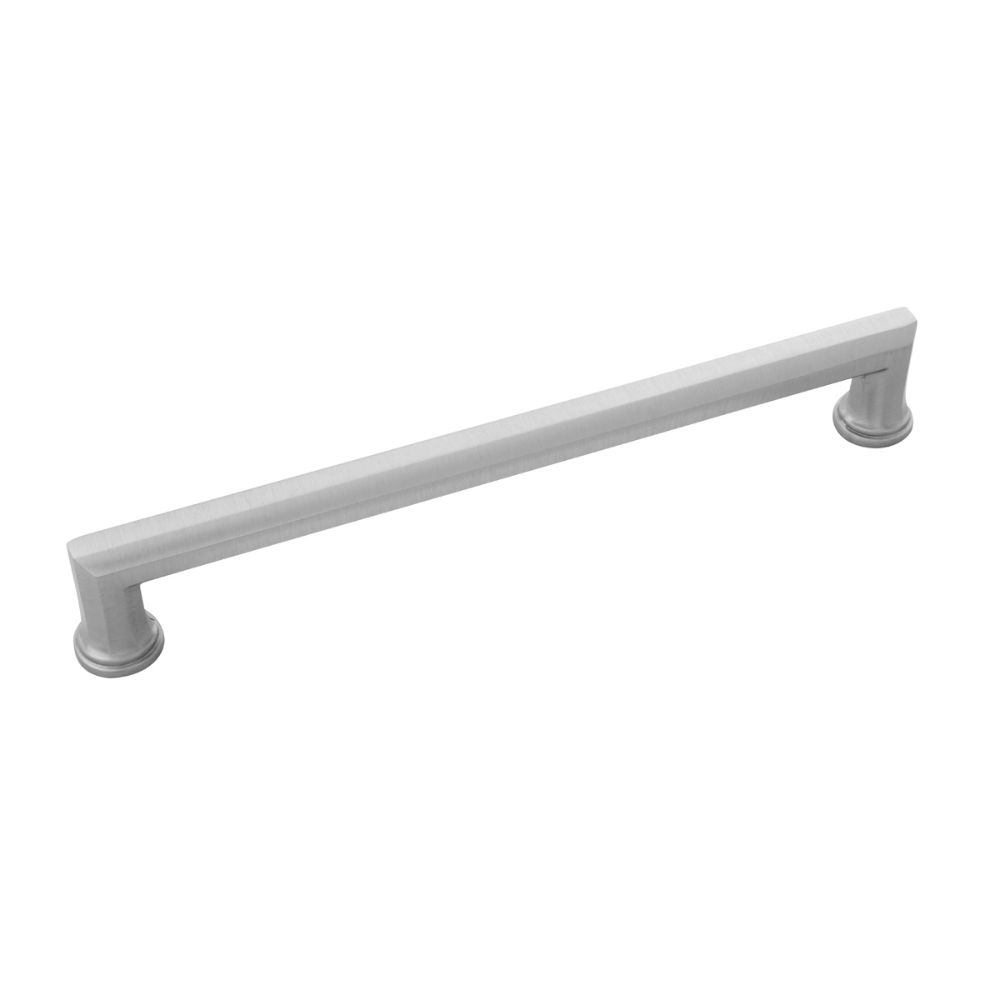 Belwith-Keeler B072442-SS Facette Collection Pull 8-11/16 Inch (220mm) Center to Center Stainless Steel Finish