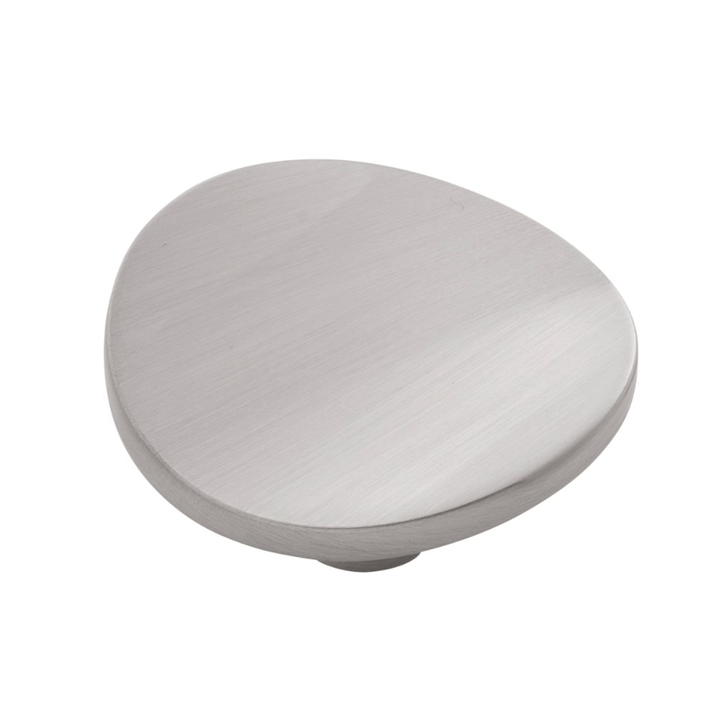 Belwith-Keeler B076526-SN Vale Collection Knob 1-3/4 Inch Diameter Satin Nickel Finish