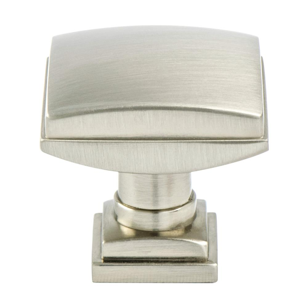 Berenson 1272-1BPN-P Tailored Traditional Timeless Charm Knob Brushed Nickel