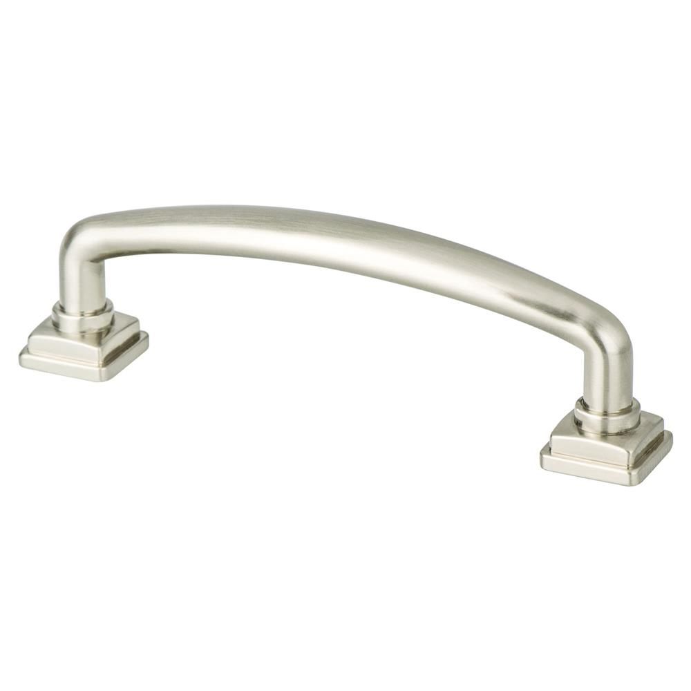 Berenson 1278-1BPN-P Tailored Traditional Timeless Charm 96mm Pull Brushed Nickel