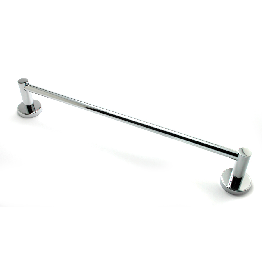 "R. Christensen by Berenson Hardware 2214US26 24"" Towel Bar Polished Chrome"