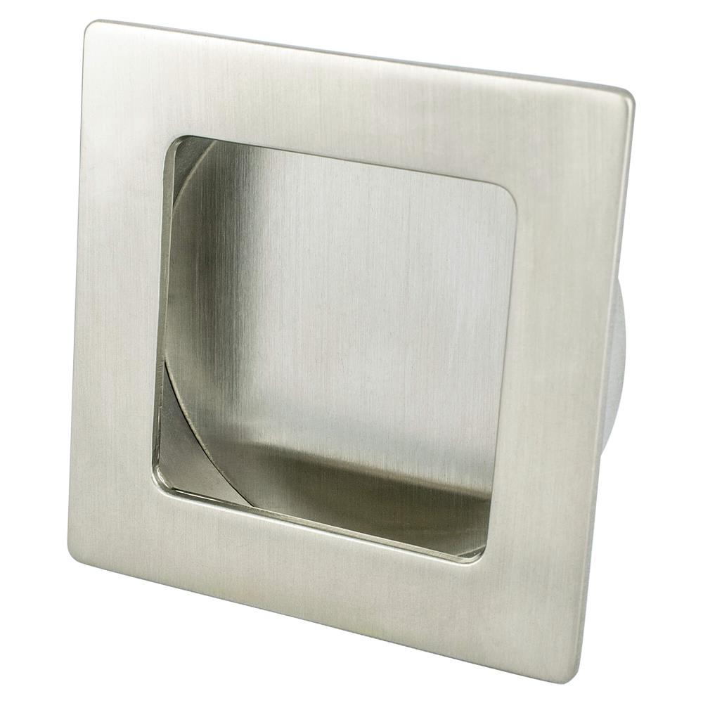 R. Christensen by Berenson Hardware 9324-1BPN-C Recess Pull 64X64Mm Cc Brushed Nickel
