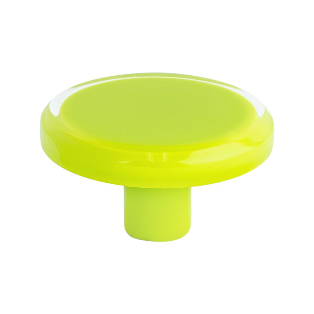 R. Christensen by Berenson Hardware 9783-7000-P Knob 50Mm Lime