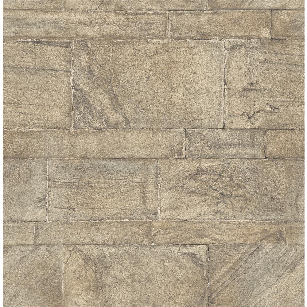 A-Street Prints by Brewster 2540-24022 Restored Clifton Bone Sandstone Wallpaper