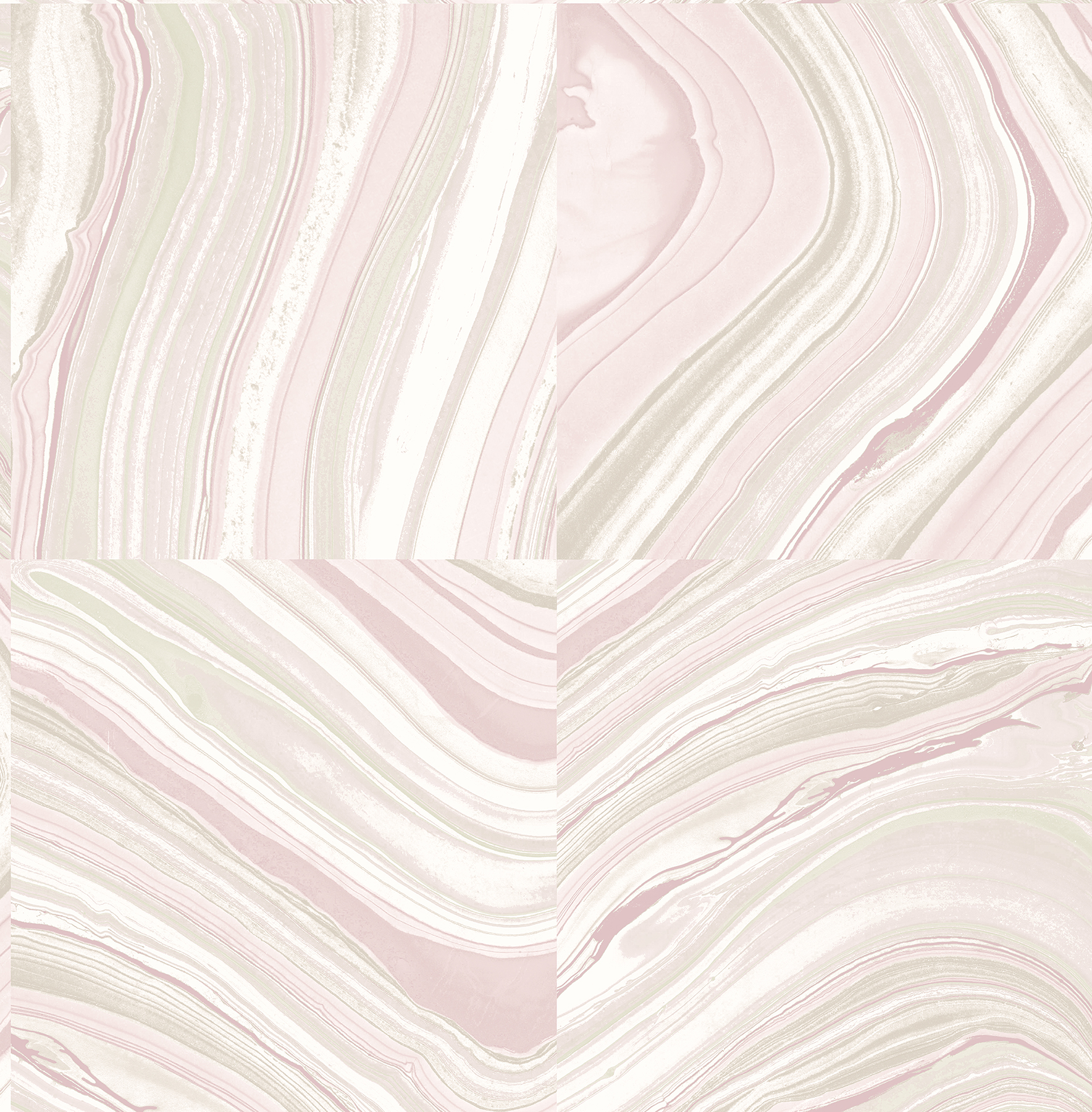Kenneth James by Brewster 2671-22406 Agate Plum Stone Wallpaper