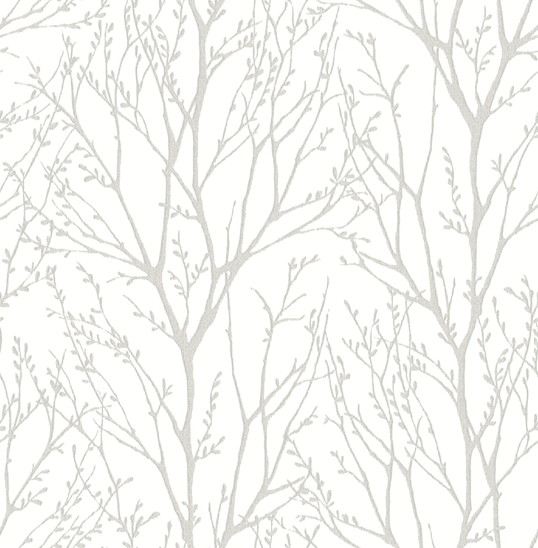 Kenneth James by Brewster 2671-22441 Autumn Silver Tree Wallpaper