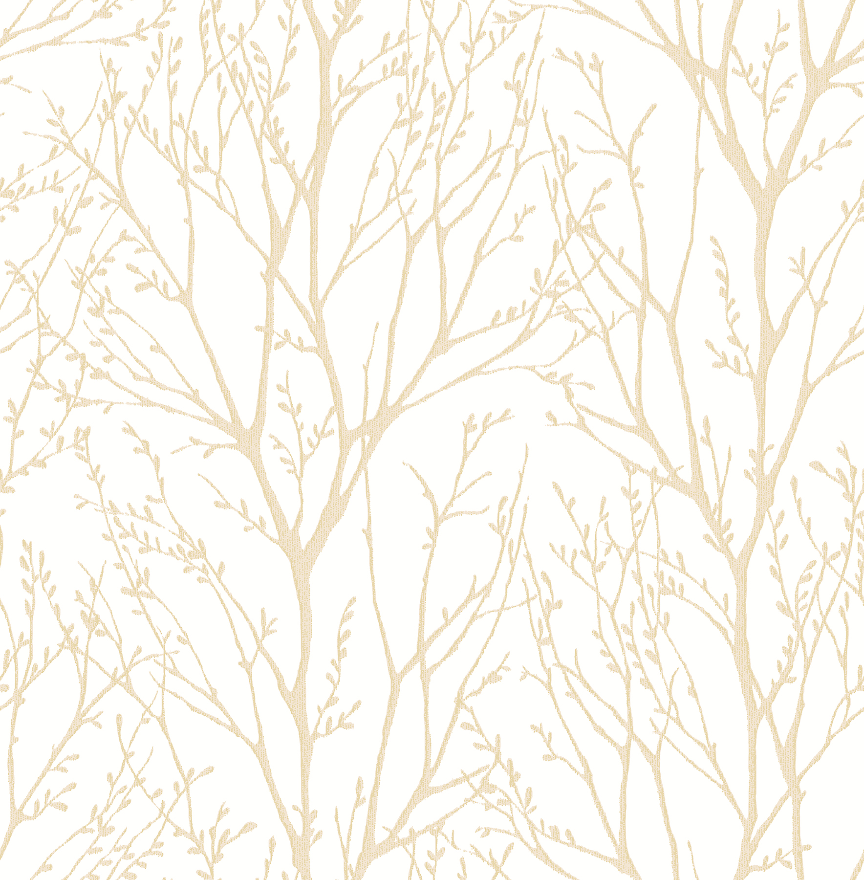Kenneth James by Brewster 2671-22442 Autumn Gold Tree Wallpaper