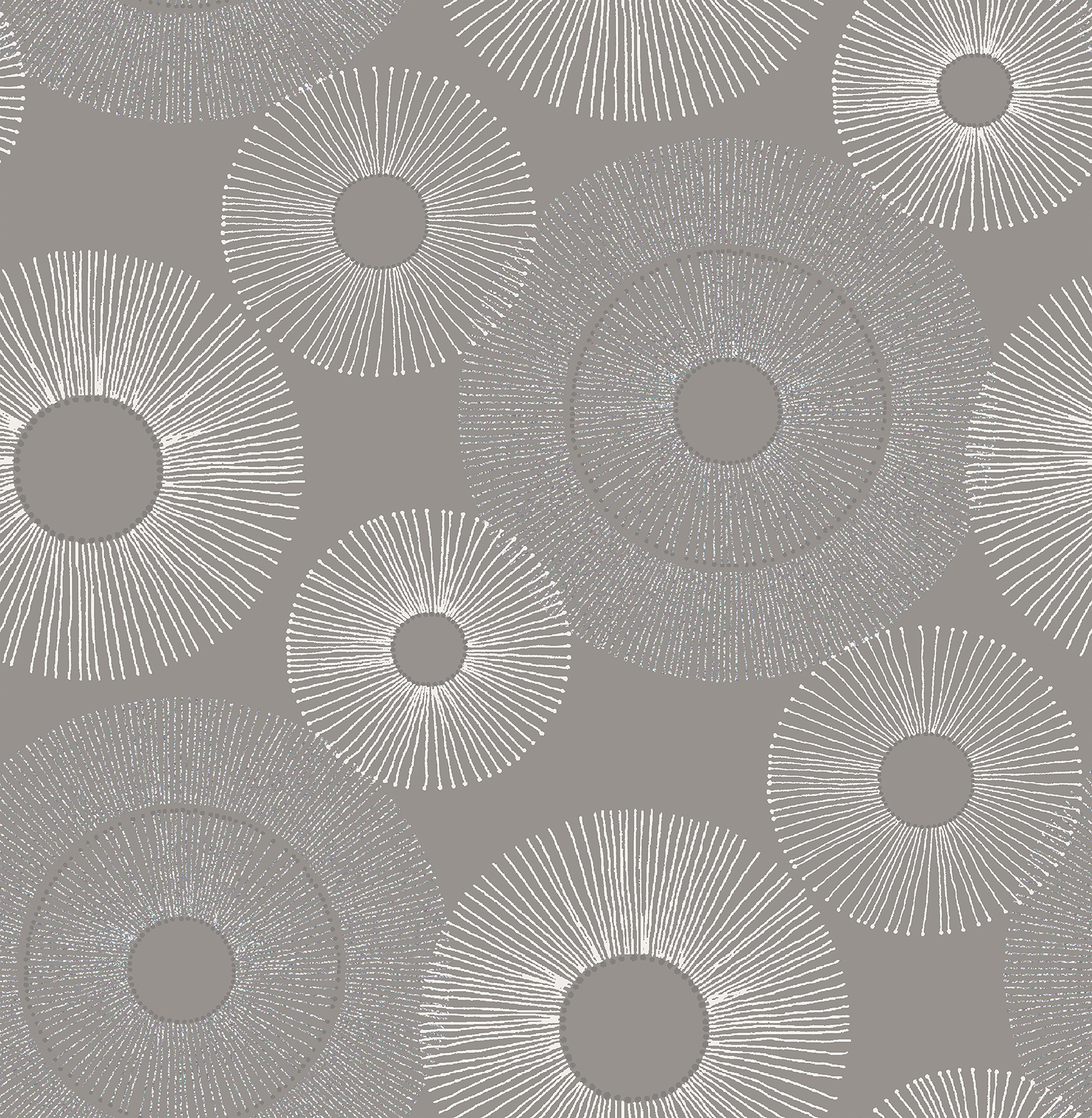 Kenneth James by Brewster 2671-22449 Eternity Grey Sparkle Wallpaper