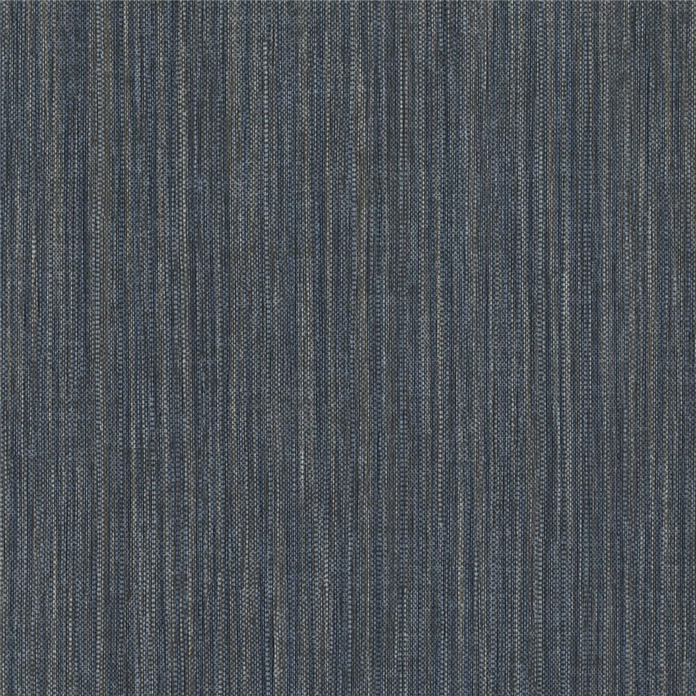 Warner Textures by Brewster 2741-6019 Texturall III Derrie Navy Vertical Stria Wallpaper