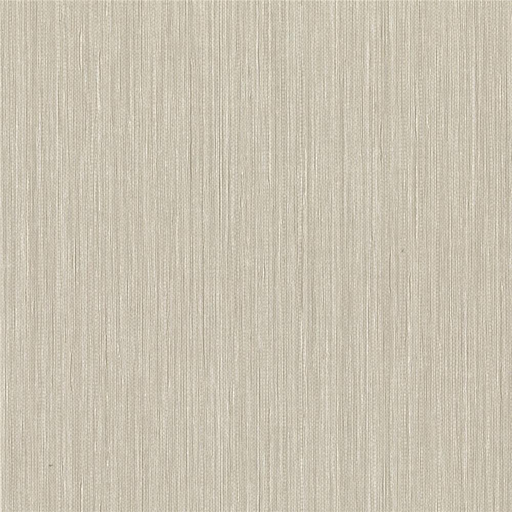 Warner Textures by Brewster 2741-6024 Texturall III Derrie Beige Vertical Stria Wallpaper