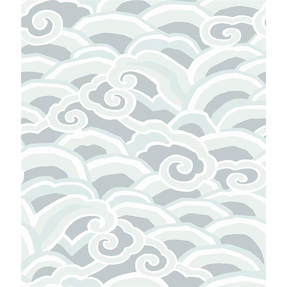 A-Street Prints by Brewster 2785-24841 Signature by Sarah Richardson 9 by Brewster 2785-24841 9 Cloud Decowave Wallpaper