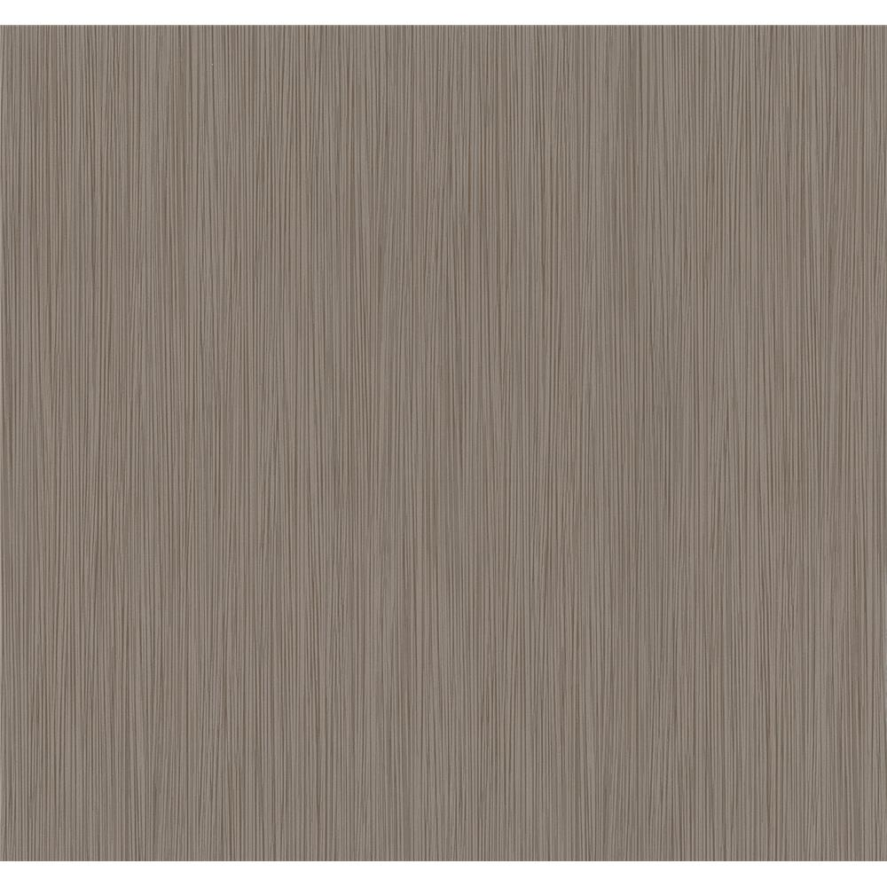 Advantage by Brewster 2799-13486-00 Texture Basics Ellington Brown Horizontal Striped Texture Wallpaper
