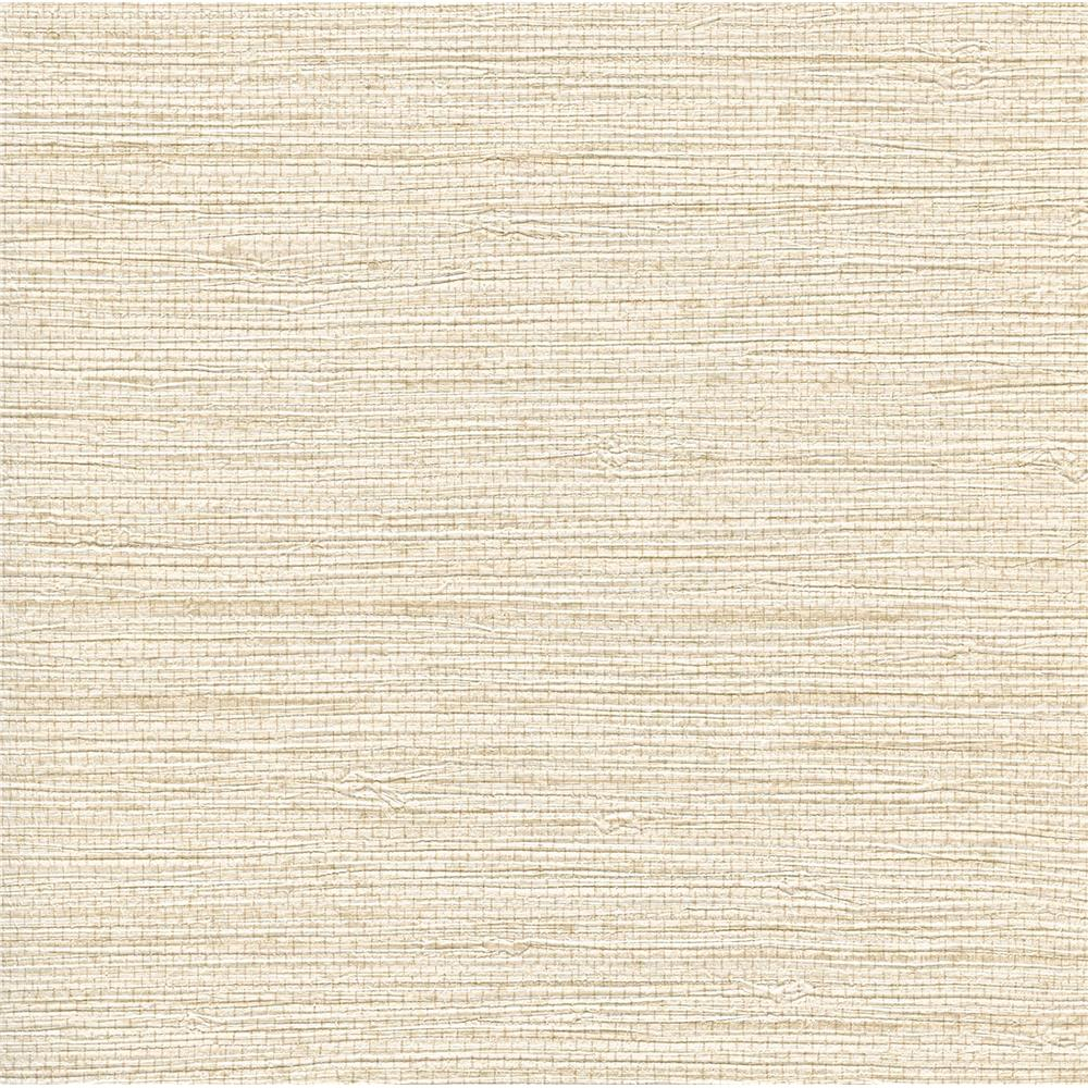 Warner Textures by Brewster 2807-4052 Warner Grasscloth Resource Bali Neutral Seagrass Faux Grasscloth Wallpaper