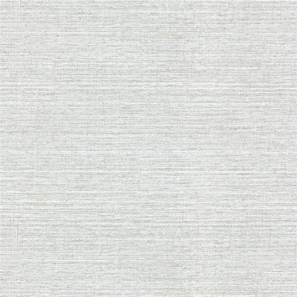 Warner Textures by Brewster 2807-9386 Warner Grasscloth Resource Madison Grey Faux Grasscloth Wallpaper