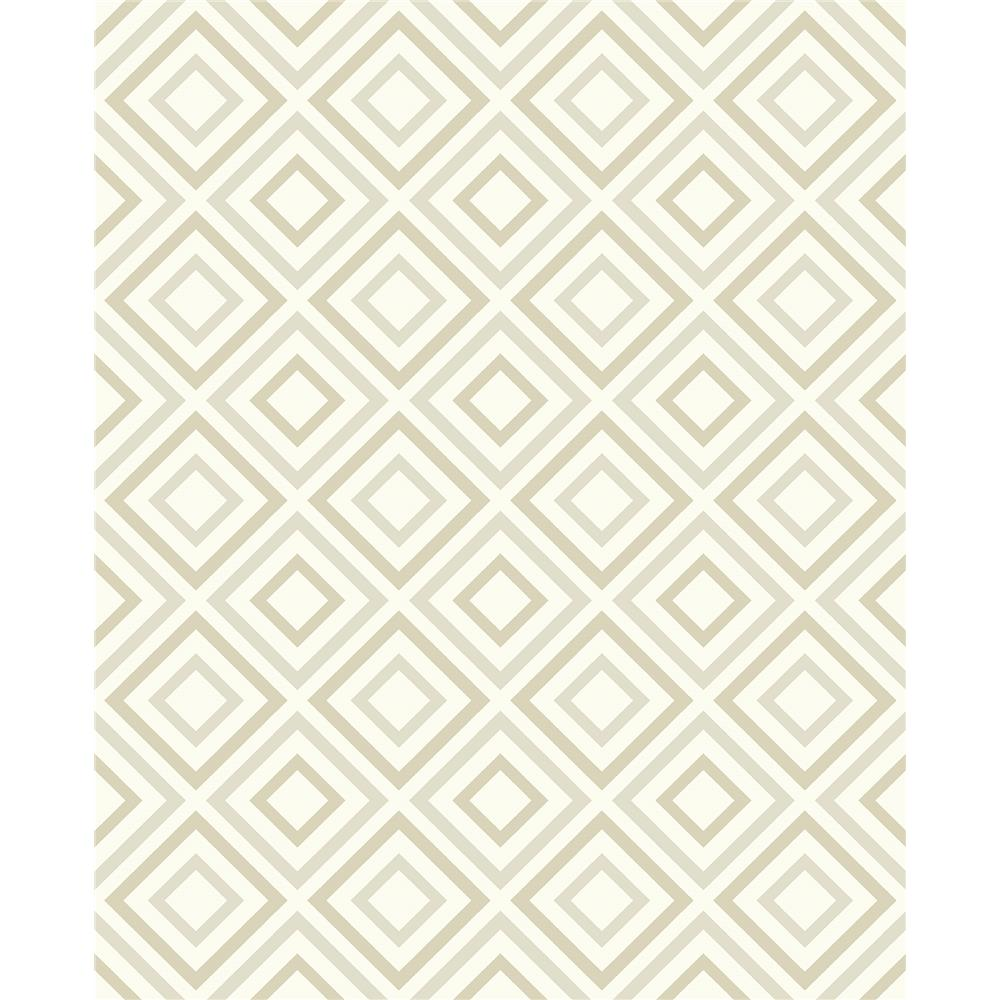 Advantage by Brewster 2809-87702 Geo Horus Champagne Diamond Geo Wallpaper