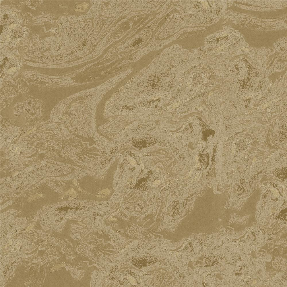 Advantage by Brewster 2810-LH01622 Tradition Reyne Gold Marble  Wallpaper