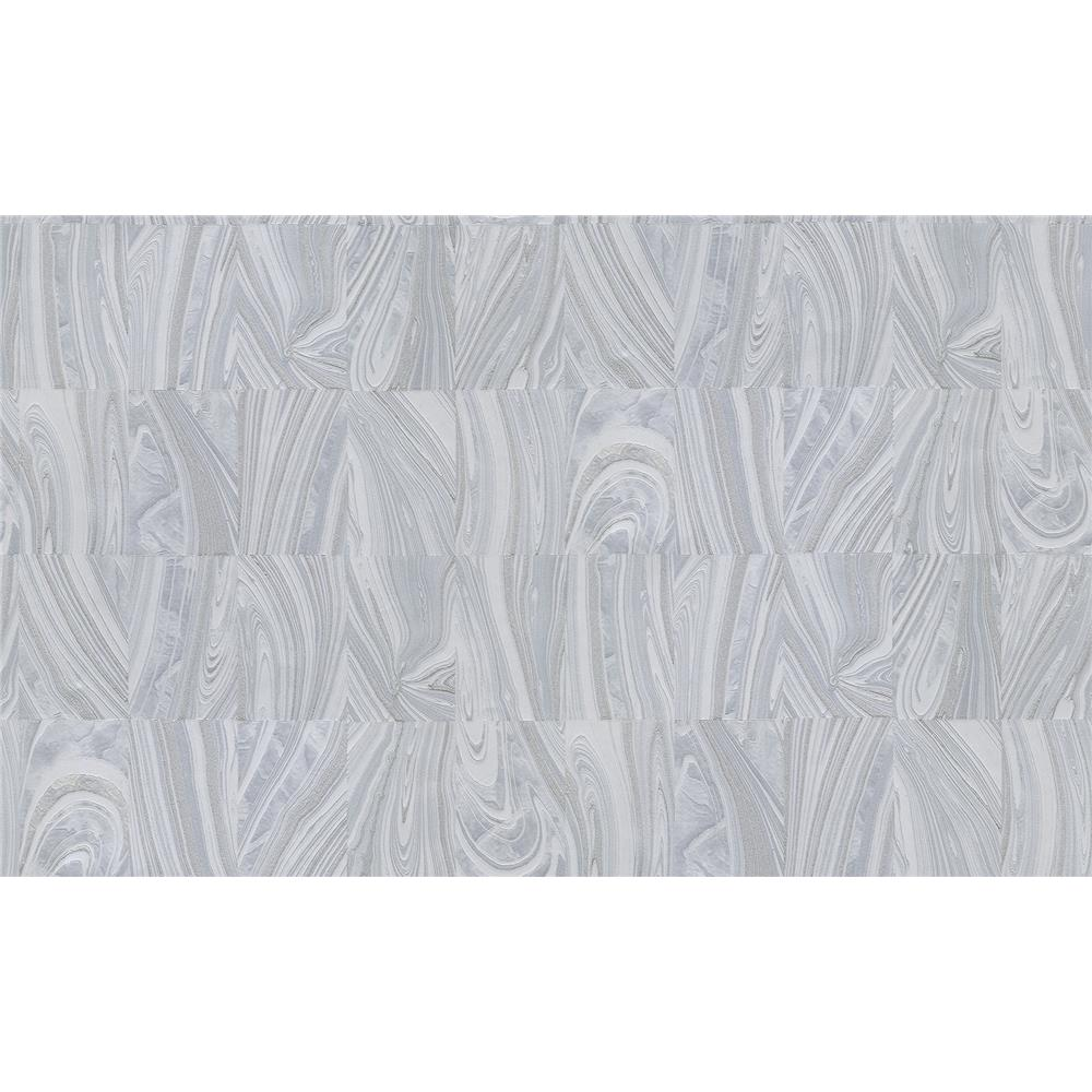 Advantage by Brewster 2835-C88620 Deluxe Boulders Ivory Glitter Marble Wallpaper