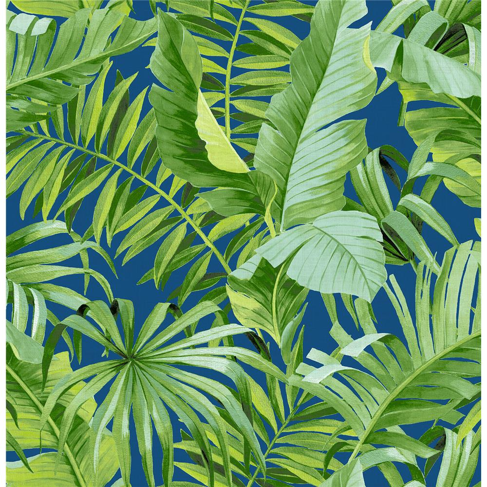 A-Street Prints by Brewster 2969-26056 Alfresco Jade Tropical Palm Wallpaper
