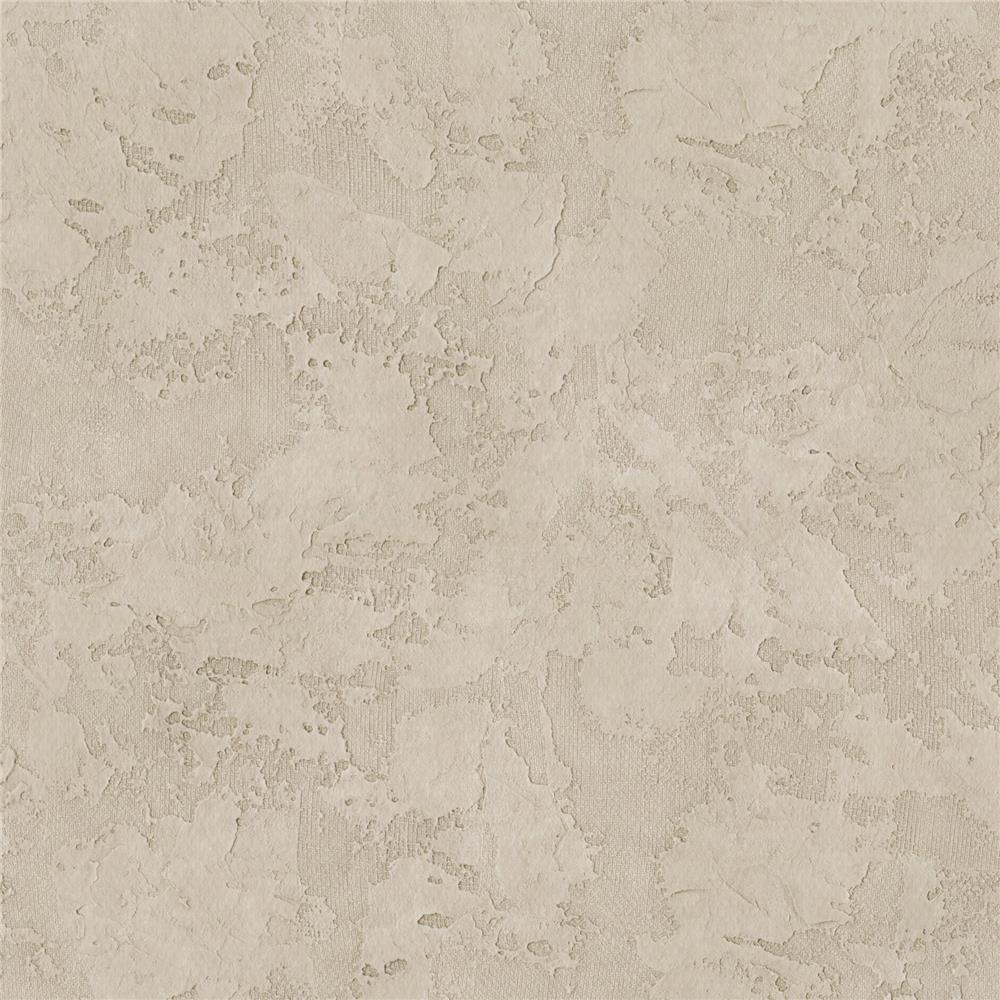 Warner Textures by Brewster 3097-27 Texture Beige Stucco Sidewall Wallpaper