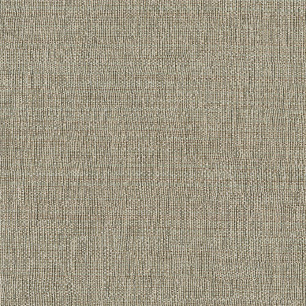 Warner Textures by Brewster 3097-44 Texture Brown Linen Sidewall Wallpaper