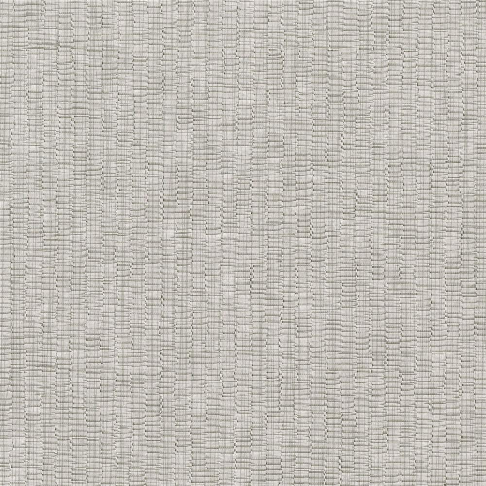 Warner Textures by Brewster 3097-57 Texture Ash Raffia Sidewall Wallpaper