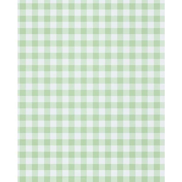 Eijffinger by Brewster 359081 Kay Mint Vichy Check Wallpaper