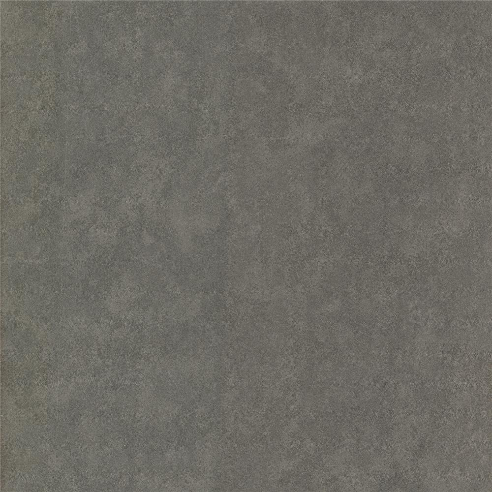 Decorline by Brewster 488-31202 Geo Rhizome Charcoal Leather Texture Wallpaper in Charcoal