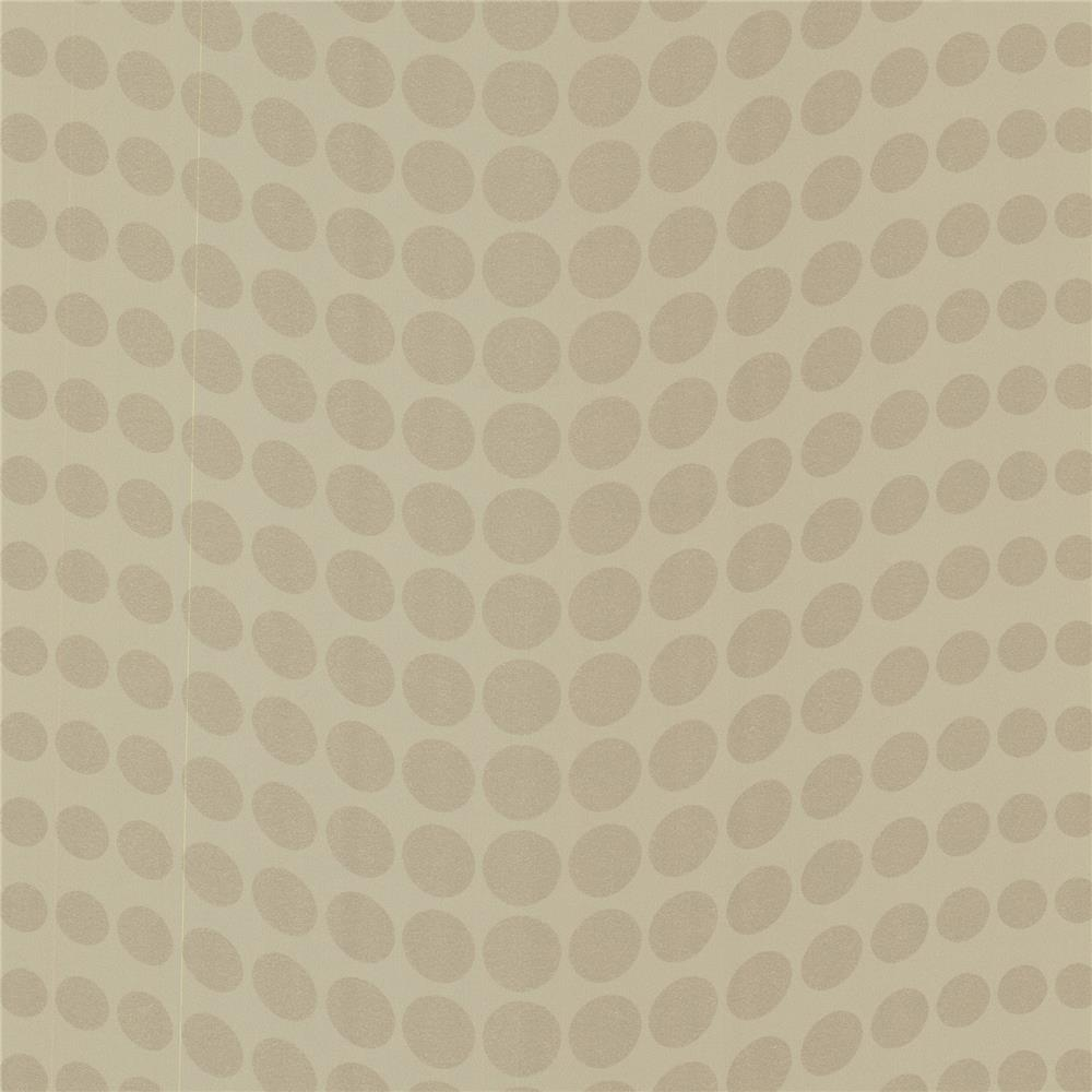 Decorline by Brewster 488-31230 Geo Genesis Gold Dotty Wallpaper in Gold