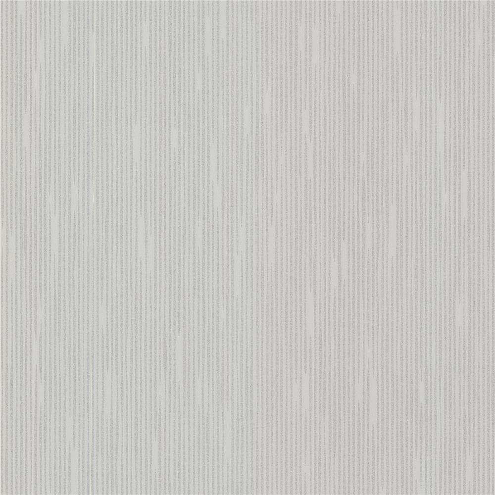 Decorline by Brewster 488-31236 Geo Pilar Silver Bark Texture Wallpaper in Silver