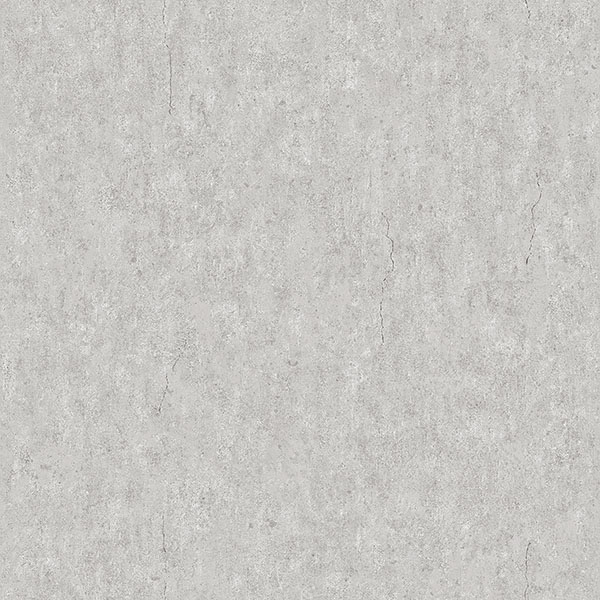 Engblad & Co by Brewster 8830 Raw Light Grey Faux Concrete Wallpaper
