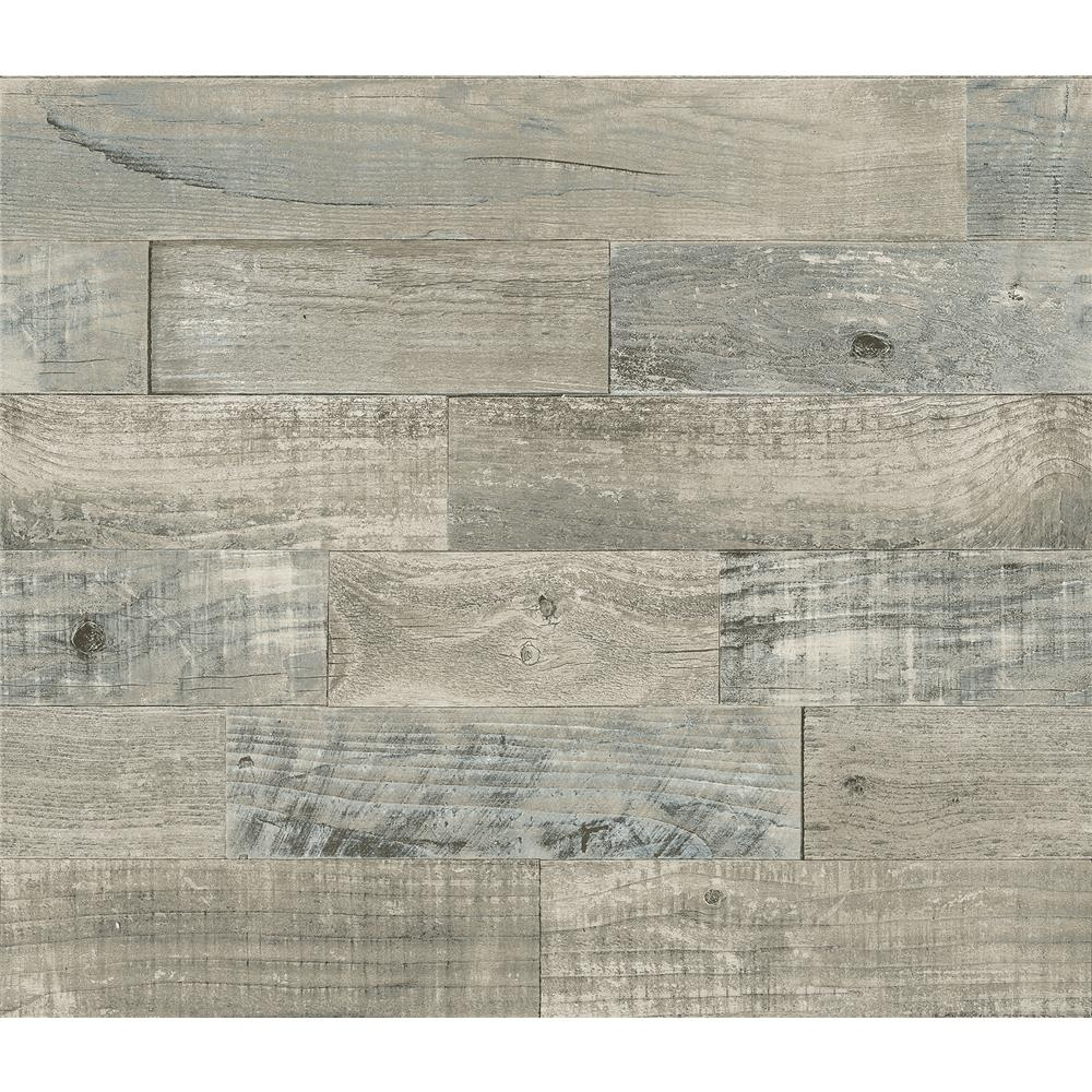 Brewster BHF3044 Coastal Wood Peel & Stick Backsplash