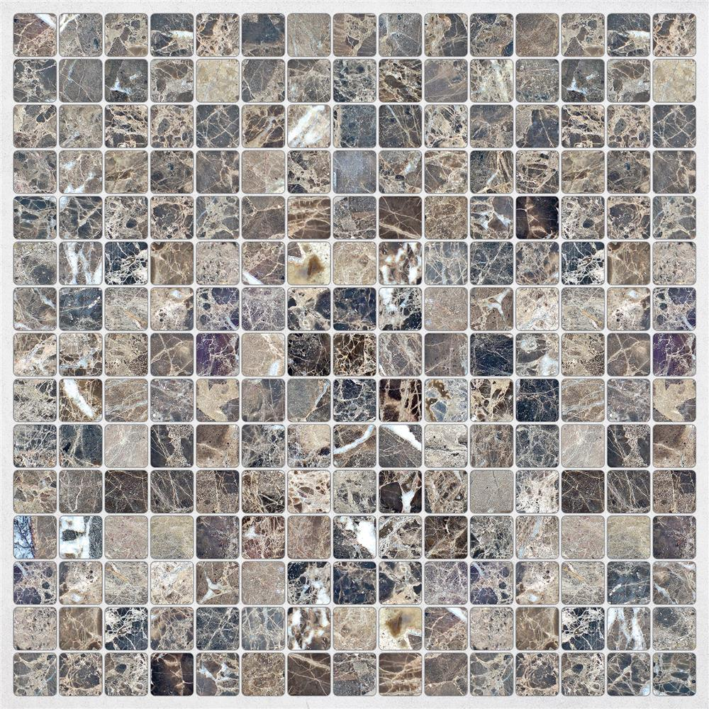 Home Decor Line by Brewster CR-31311 Marble Peel & Stick Tiles