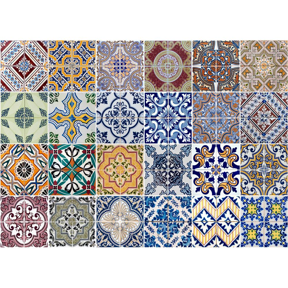 Home Decor Line by Brewster CR-67202 Home Decor Line Azulejos Kitchen Panel