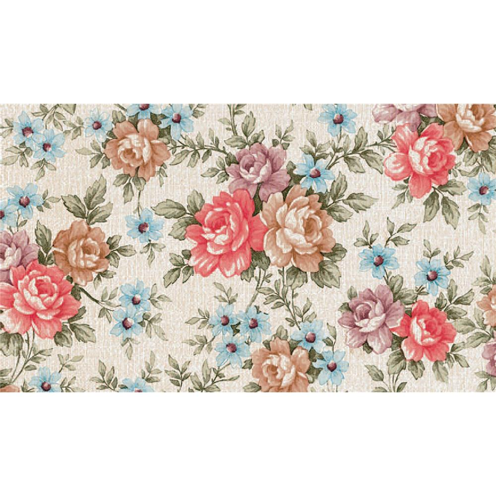 Fablon by Brewster FAB10224 Fablon Romance Floral Adhesive Film