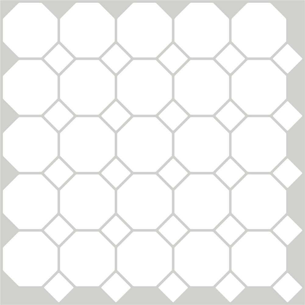 InHome by Brewster NH2958 Octagon Peel & Stick Backsplash Tiles