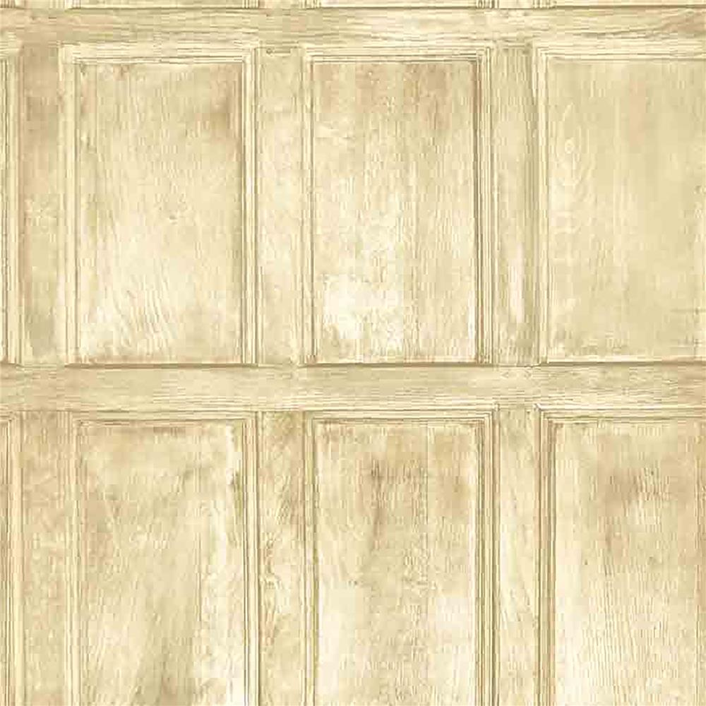 Brewster WP0090501 Common Room Beige Wainscoting Wallpaper