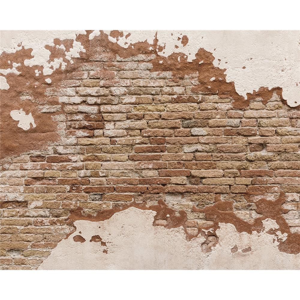 Wall Rogues by Brewster WR50508 Distressed Brick Wall Mural
