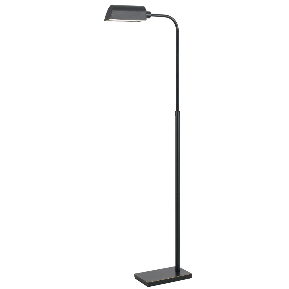Cal Lighting BO-2618FL Dark Bronze Pharmacy 1 Light LED Floor Light
