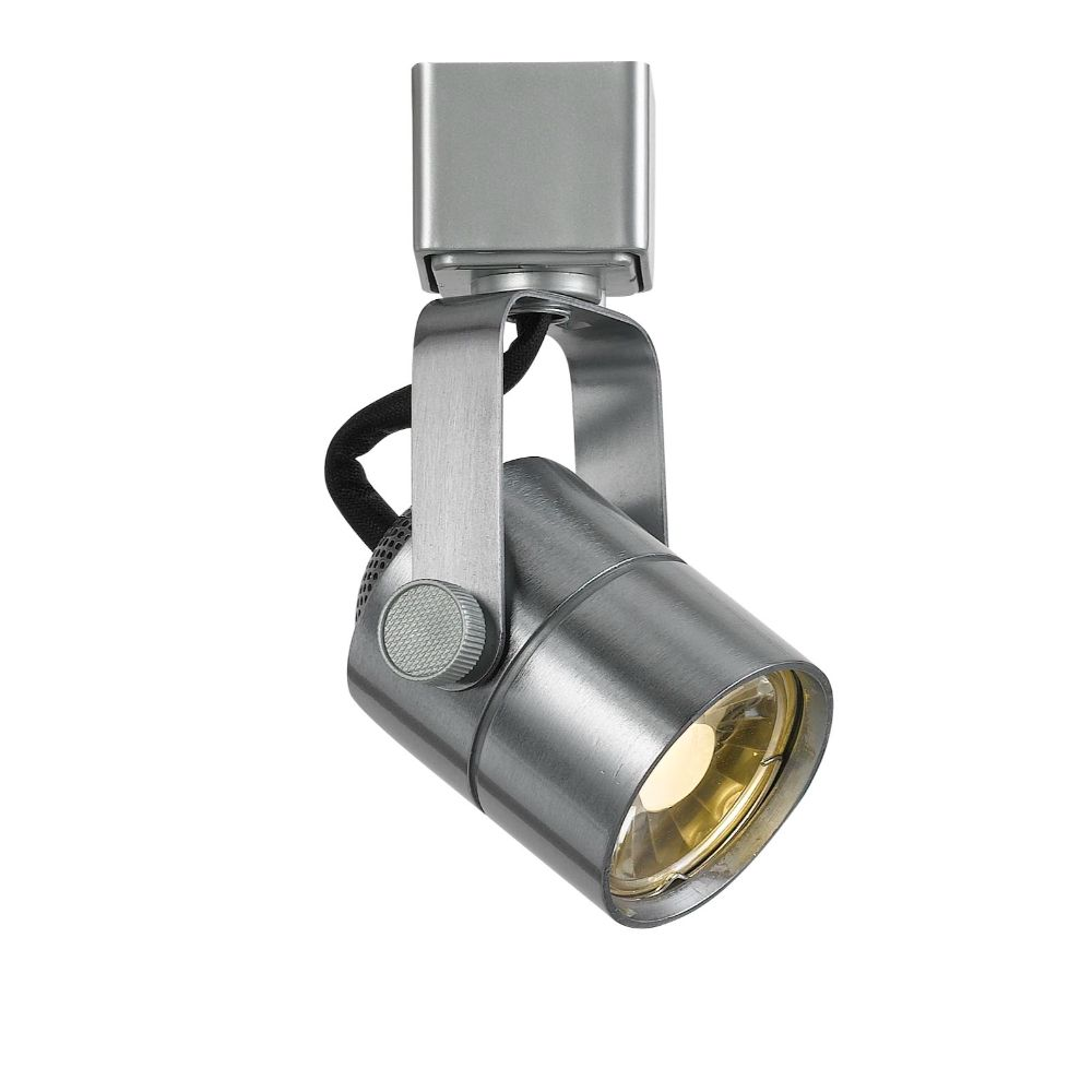 "Cal Lighting HT-611S-BS Led Track 5"" Height Metal Track Head in Brushed Steel"