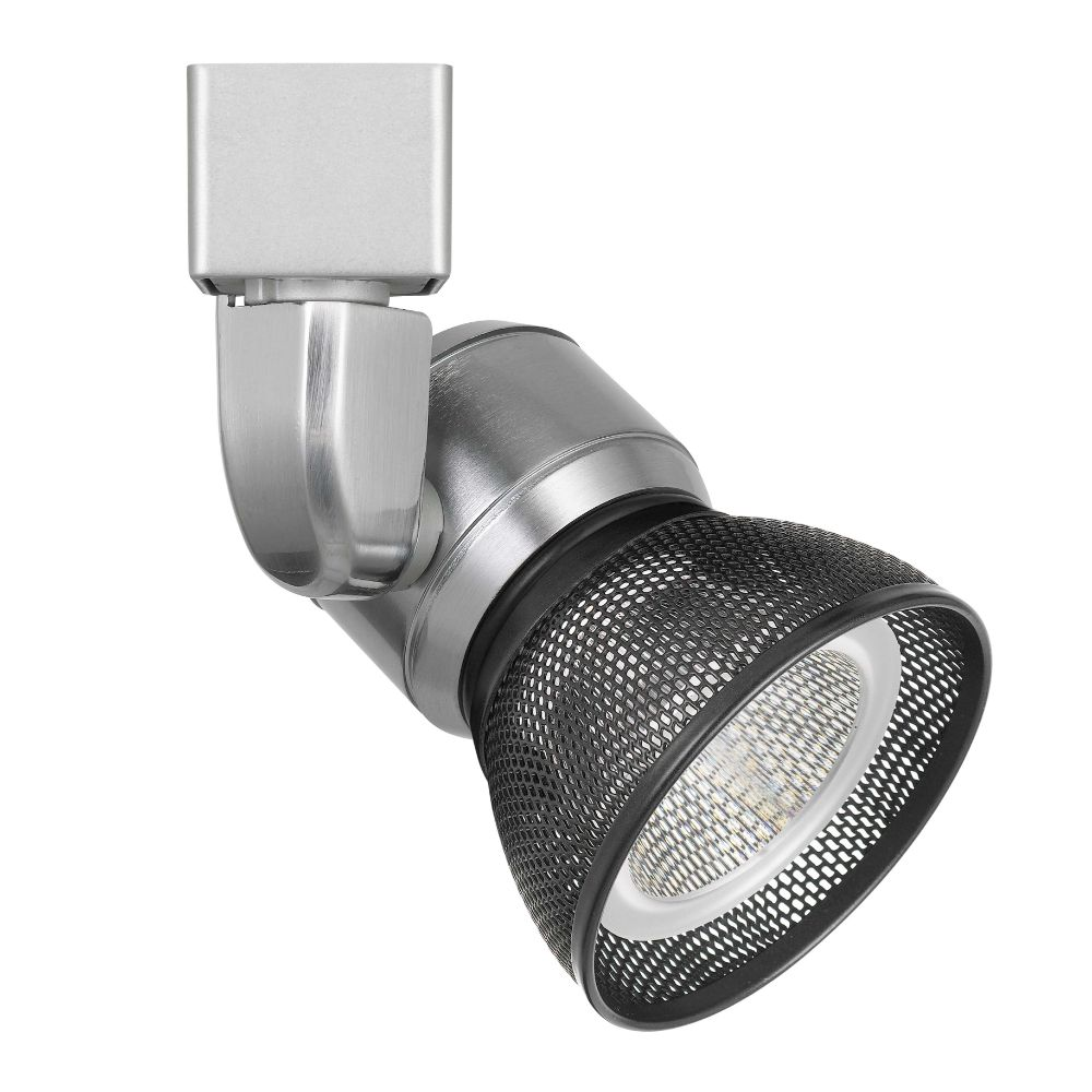 CAL Lighting HT-888BS-MESHDB 10w Dimmable Integrated Led Track Fixture, 700 Lumen, 90 Cri