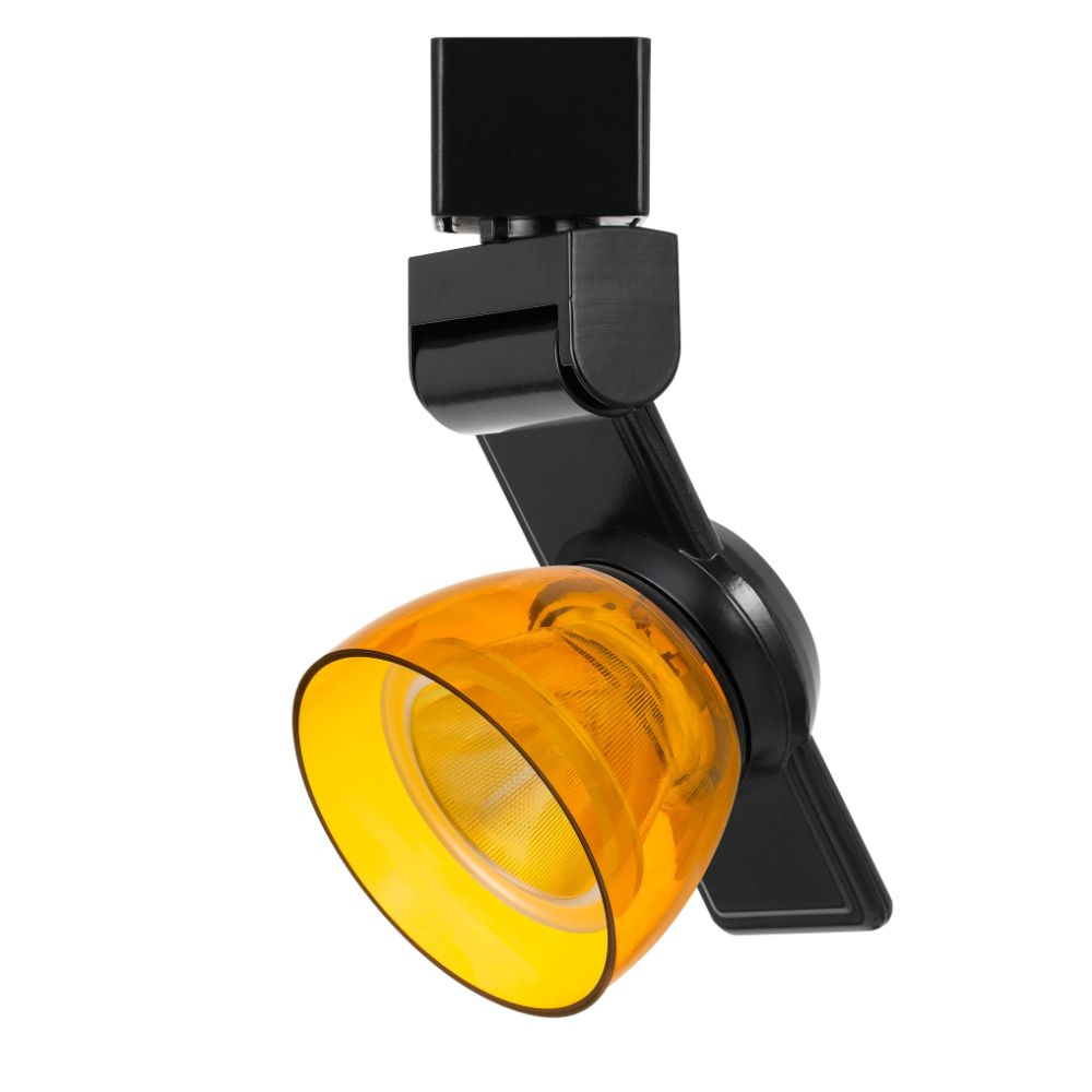 CAL Lighting HT-999BK-AMBCLR 12w Dimmable Integrated Led Track Fixture, 750 Lumen, 90 Cri