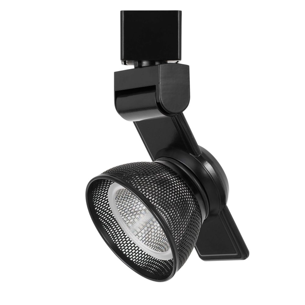 CAL Lighting HT-999BK-MESHBK 12w Dimmable Integrated Led Track Fixture, 750 Lumen, 90 Cri